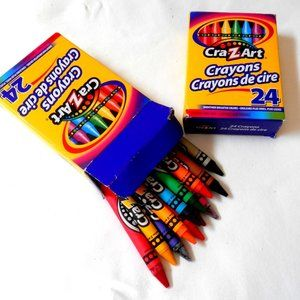 Free With Bundle Books Wax crayon Box